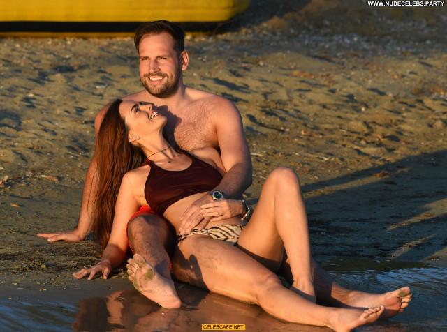 Jennifer Metcalfe No Source Celebrity Beach Bikini Posing Hot Ibiza