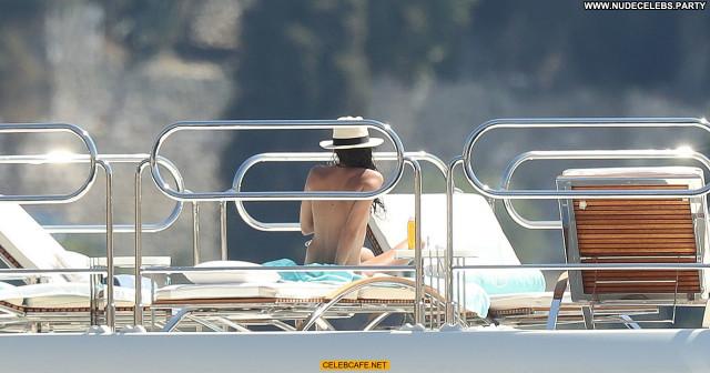 Sara Sampaio No Source Topless Toples Beautiful Celebrity Babe Yacht