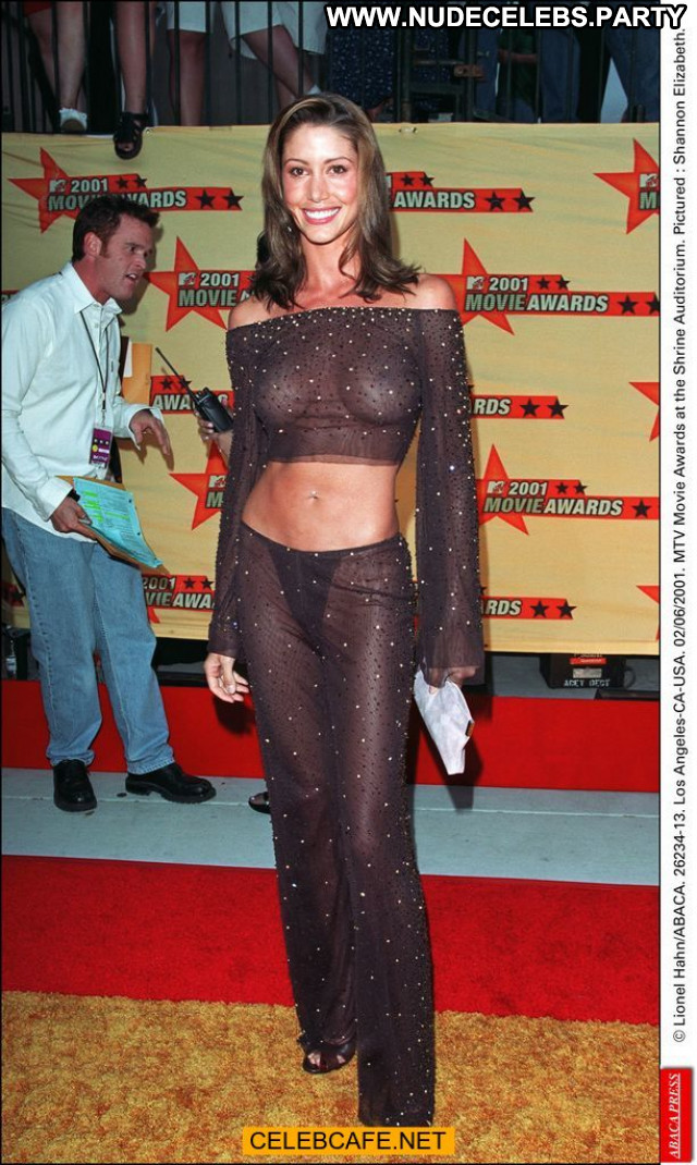 Shannon Elizabeth Mtv Movie Awards Beautiful Babe Movie Awards