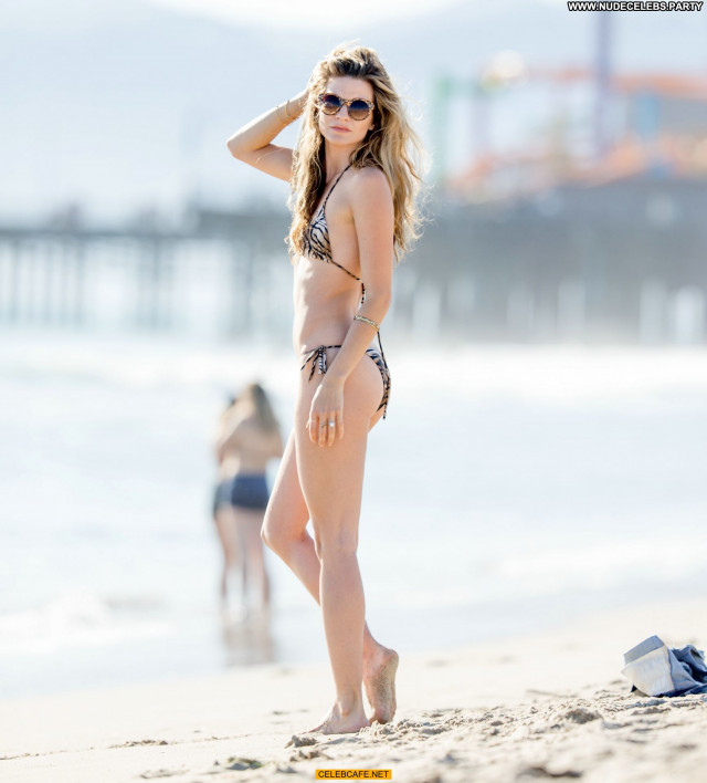 Rachel Mccord The Beach  Posing Hot Bikini Beach Babe Beautiful