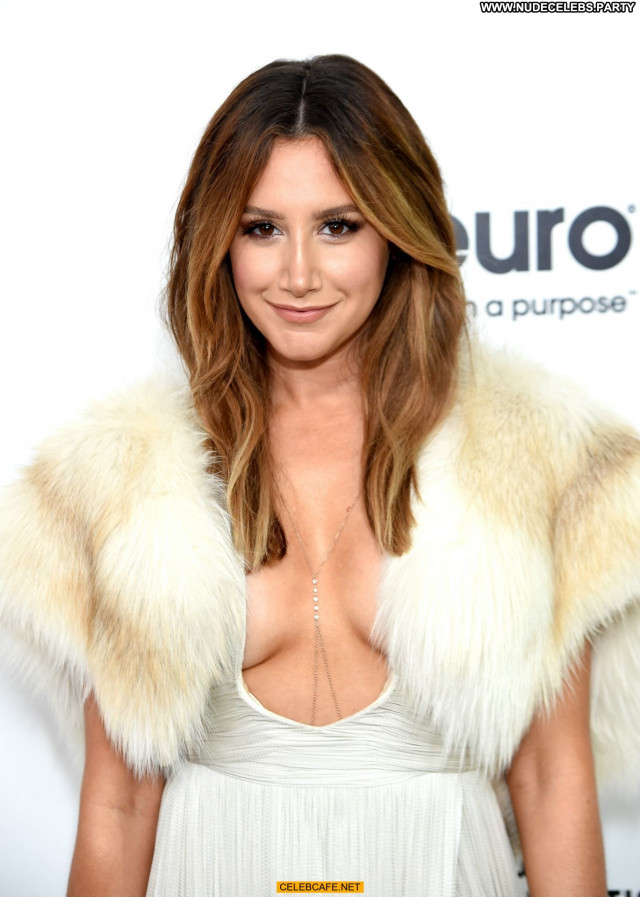 Ashley Tisdale No Source Beautiful Babe Cleavage Celebrity Party