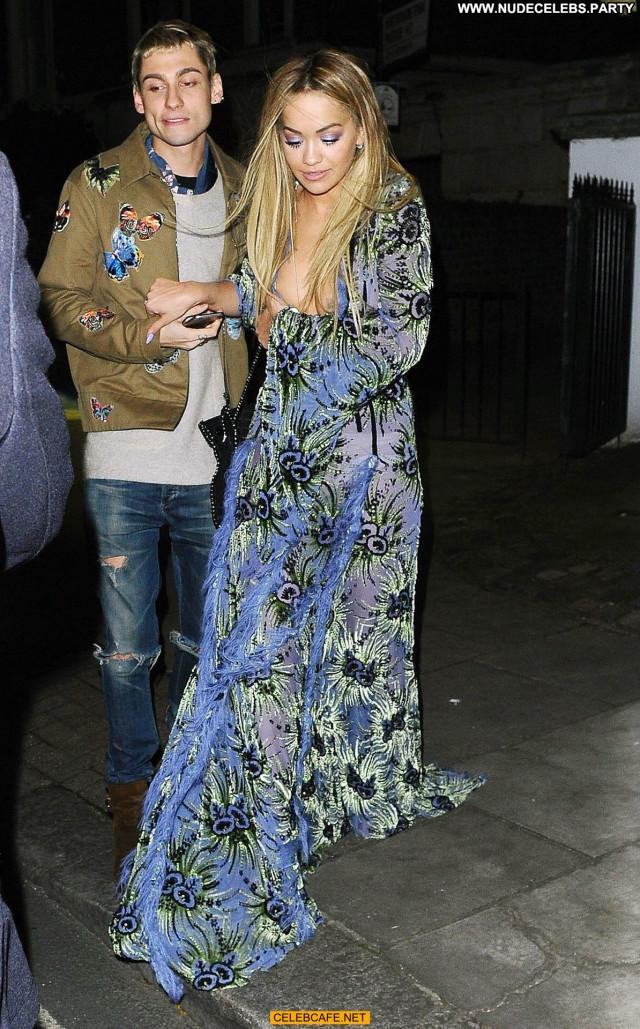 Rita Ora X Factor London Posing Hot Beautiful Celebrity Tit Slip Babe