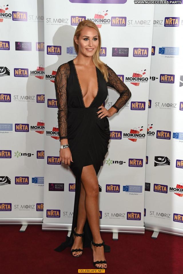 Chloe Goodman No Source Posing Hot Cleavage Celebrity Awards Reality