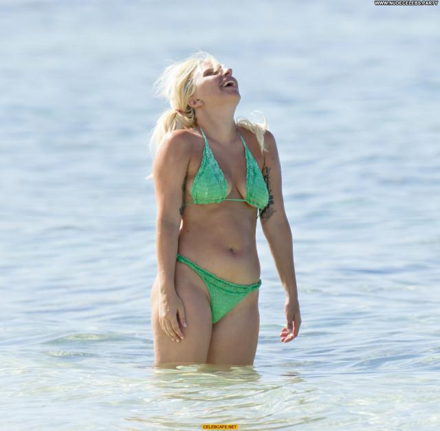 Lady Gaga No Source Bahamas Bikini Beautiful Gag Babe Celebrity