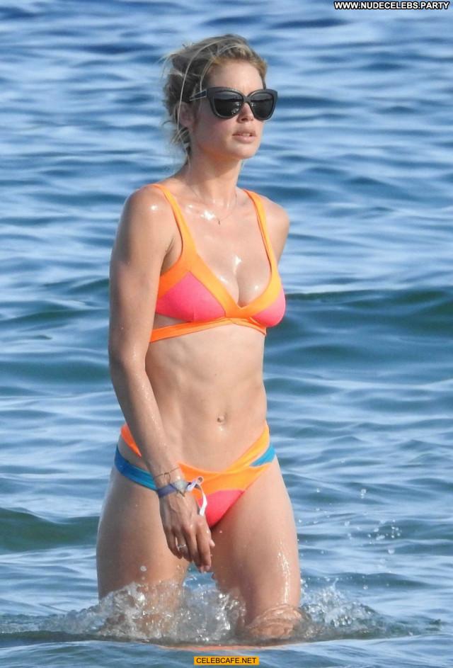 Doutzen Kroes The Beach Babe Beach Bikini Ibiza Celebrity Beautiful