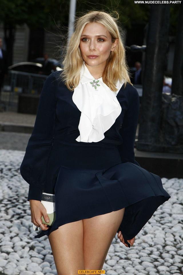 Elizabeth Olsen No Source Pants Upskirt Celebrity Beautiful Babe