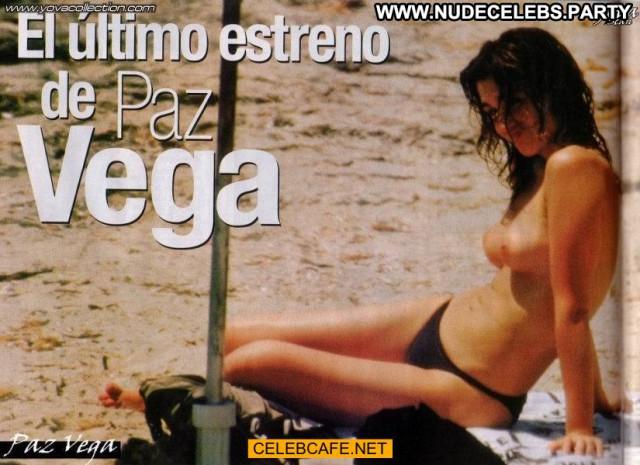 Paz Vega No Source Beach Babe Topless Celebrity Beautiful Toples