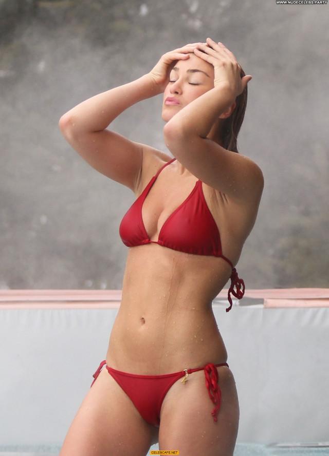 Amy Willerton No Source Posing Hot Pool Bikini Sex Babe Celebrity