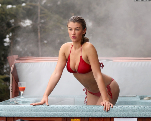 Amy Willerton No Source Pool Bikini Sexy Sex Posing Hot Beautiful