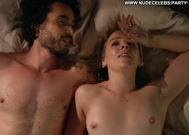 Helene Yorke After Sex Beautiful Bed Pillow Celebrity Sea Tits