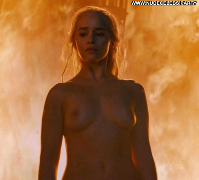 Emilia Clarke Game Of Thrones Celebrity Big Tits Babe Breasts Old