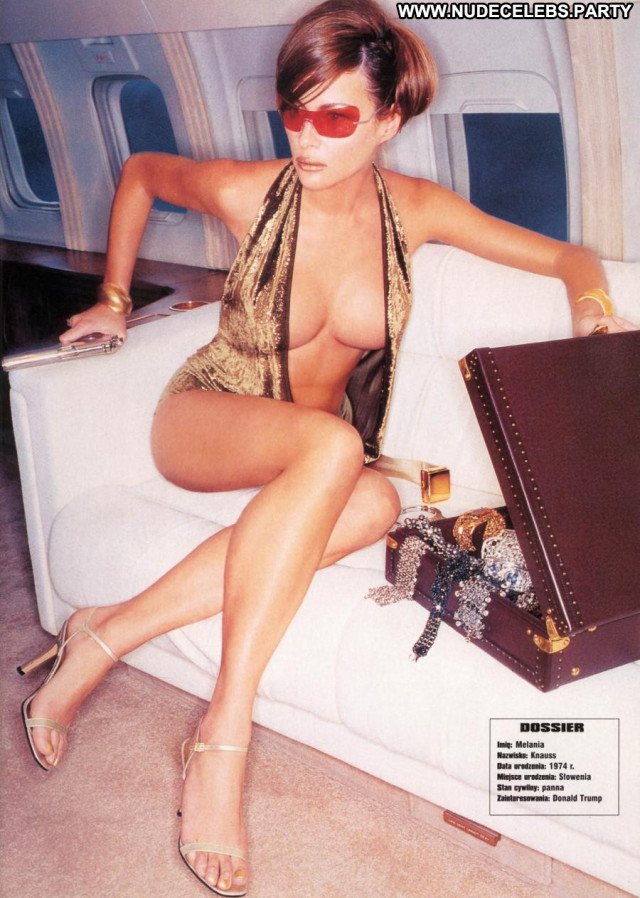 Melania Trump Back In The Day Nude Celebrity Photoshoot Bed See