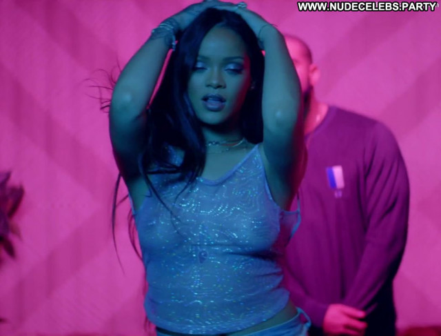 Rihanna The Ex Breasts Toples Topless Big Tits Posing Hot Babe