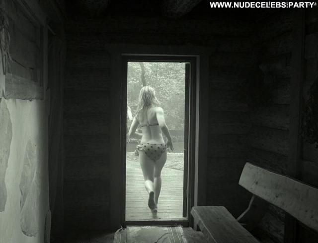 Elina Pahklimagi White Robe  Russian Breasts Big Tits Babe Celebrity