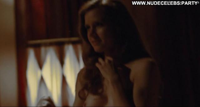 Amy Adams American Hustle Toples Nice Breasts Pasties American Posing
