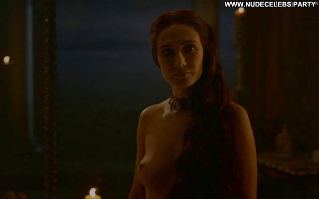 Carice Van Houten Game Of Thrones Car Nude Breasts Babe Sex Scene Ass