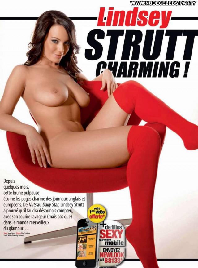 Lindsey Strutt French Magazine Stunning Posing Hot Nude Magazine