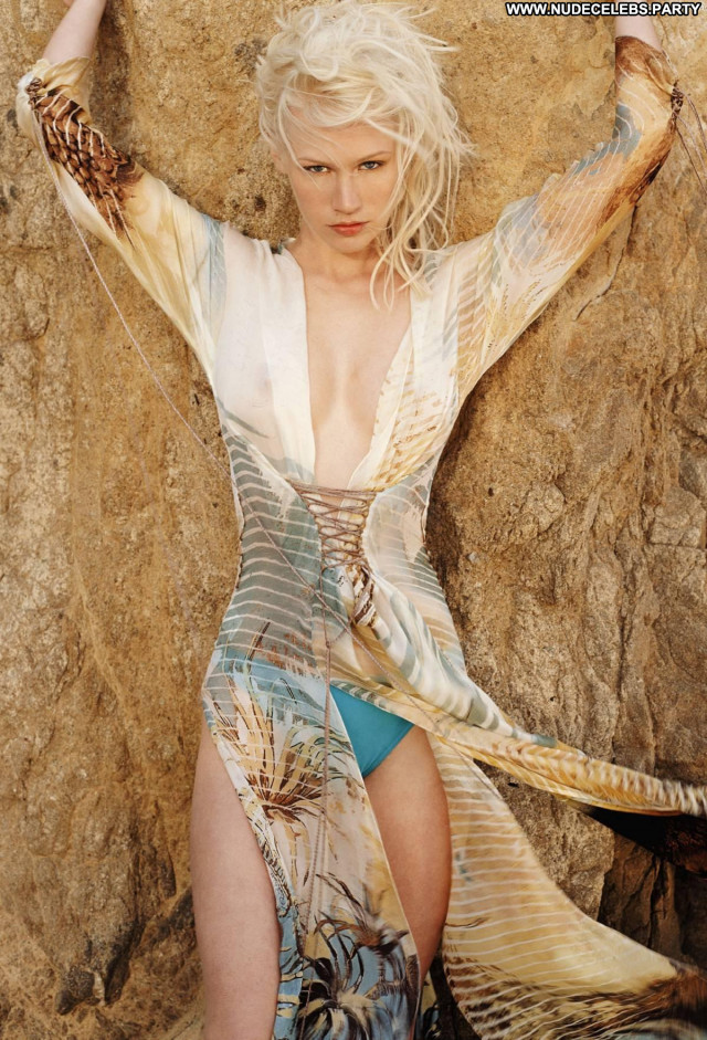January Jones Mad Men Posing Hot Sea Babe Beautiful Celebrity Nude