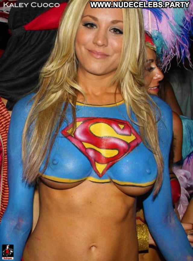 Kaley Cuoco No Source Posing Hot Nude Beautiful Celebrity Babe Body