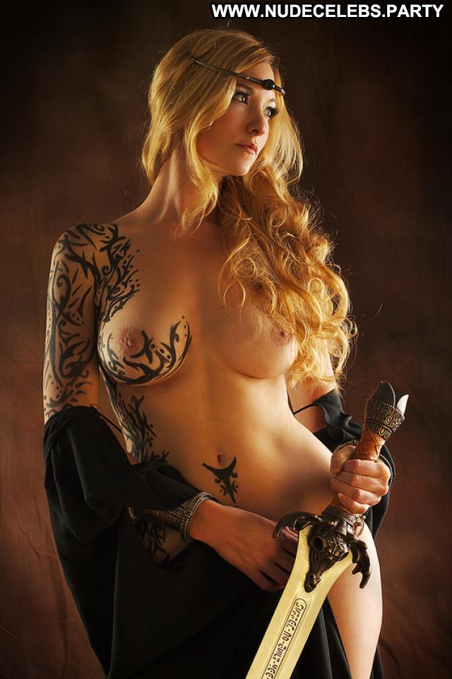 Geraldine No Source Posing Hot Celebrity Lake Beautiful Babe Nude