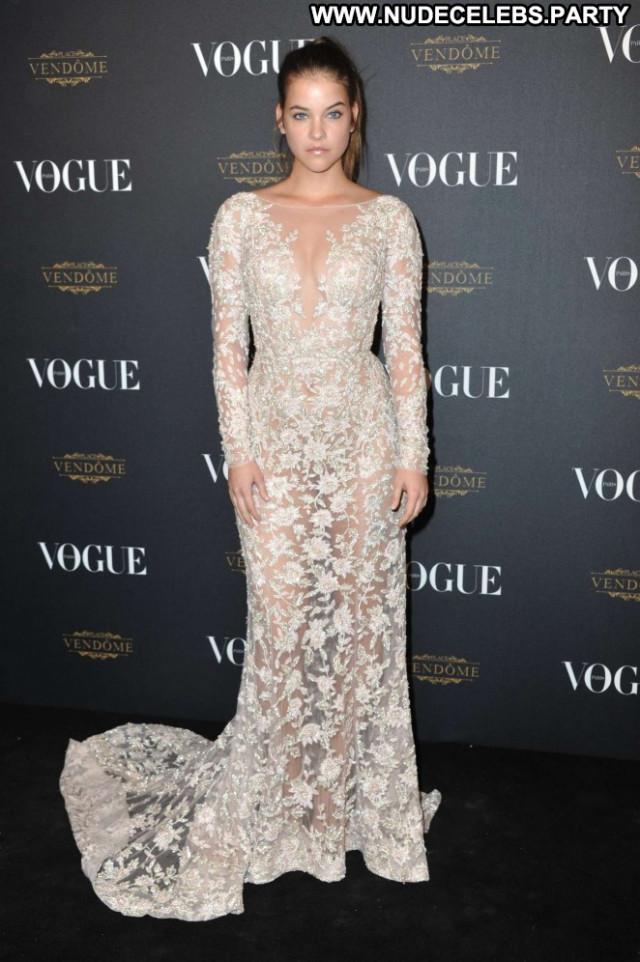 Vogue Anniversary Party Paparazzi Paris Beautiful Babe Posing Hot