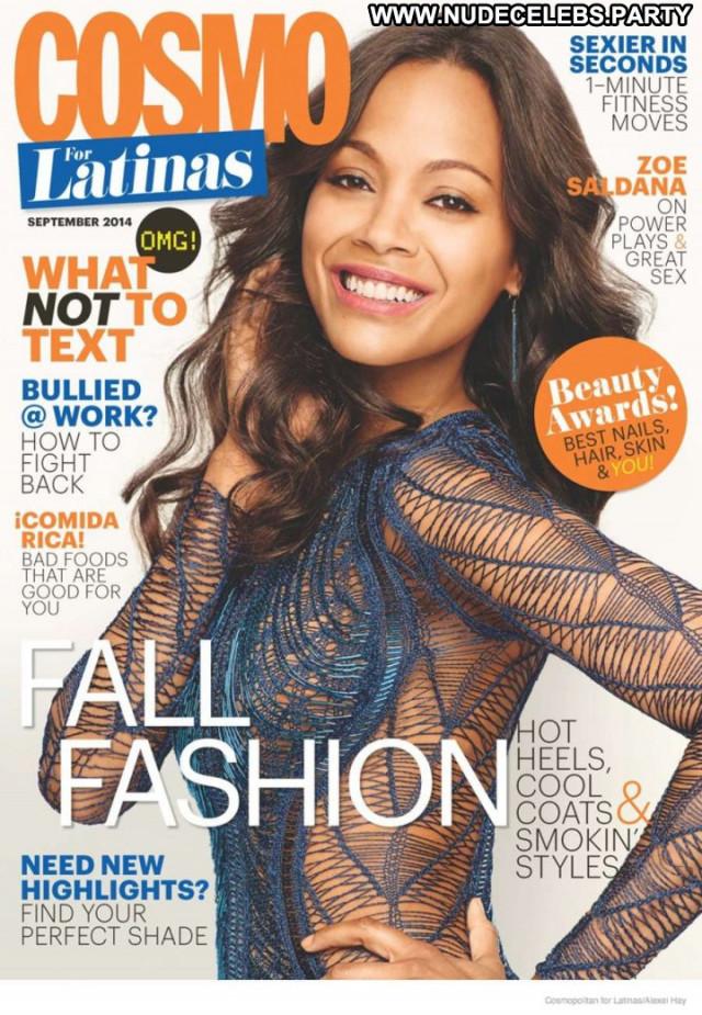 Zoe Saldana S Magazine  Latin Magazine Beautiful Babe Celebrity