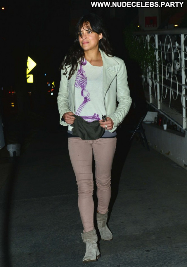Michelle Rodriguez West Hollywood West Hollywood Posing Hot Celebrity
