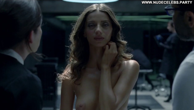 Angela Sarafyan Westworld Beautiful Celebrity Big Tits Female Topless