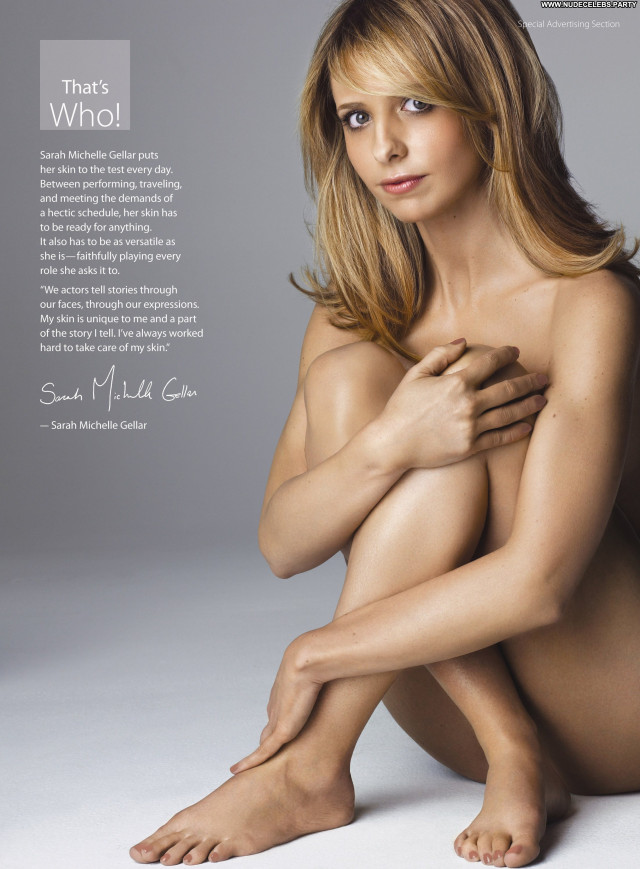 Sarah Michelle Gellar The Floor Celebrity Magazine Babe Floor Nude