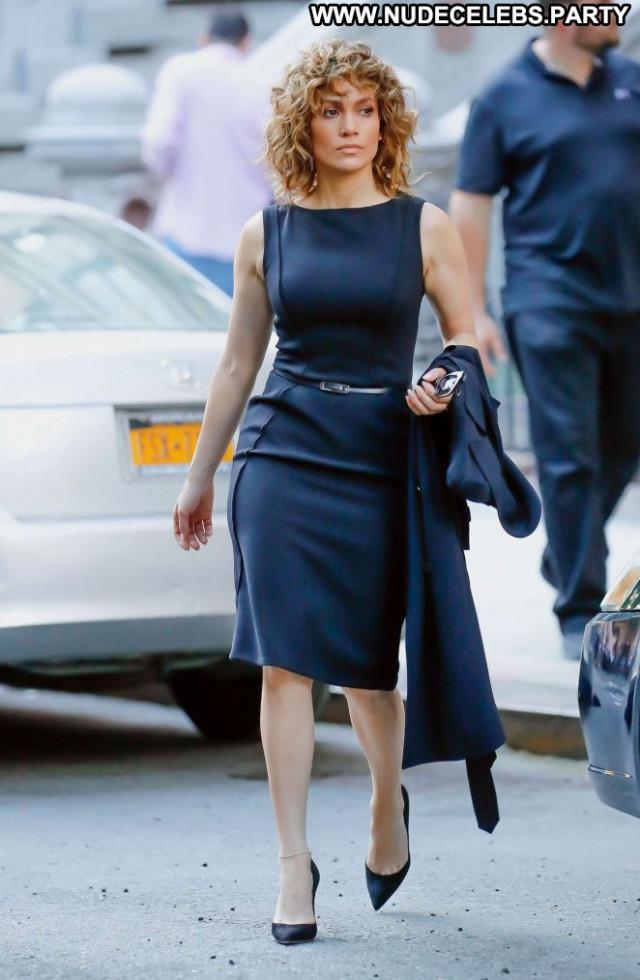 Jennifer Lopez New York Paparazzi Celebrity Beautiful Posing Hot Babe