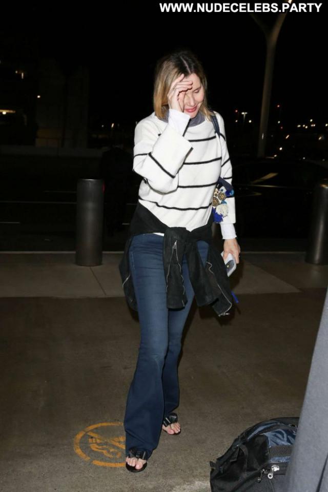 Geena Davis Los Angeles  Celebrity Beautiful Posing Hot Paparazzi Los