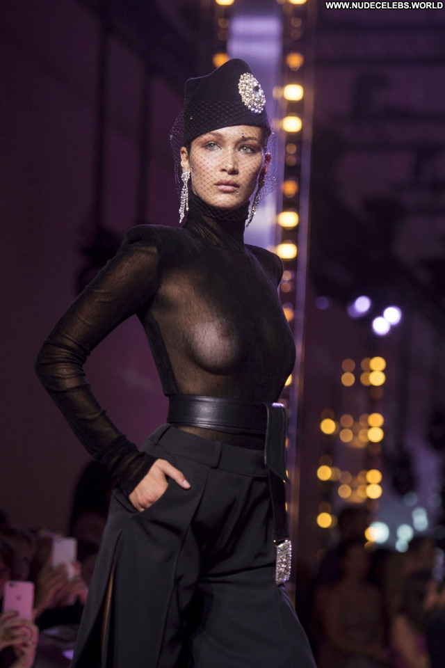 Elsa Hosk Fashion Show Beautiful Fashion See Through Awards American