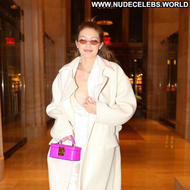 Gigi Hadid No Source Nyc Babe Celebrity Beautiful Posing Hot Paparazzi