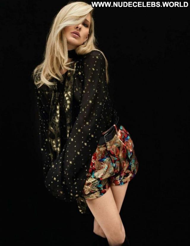 Ilona Smet Elle France Celebrity Posing Hot Magazine Babe Paparazzi