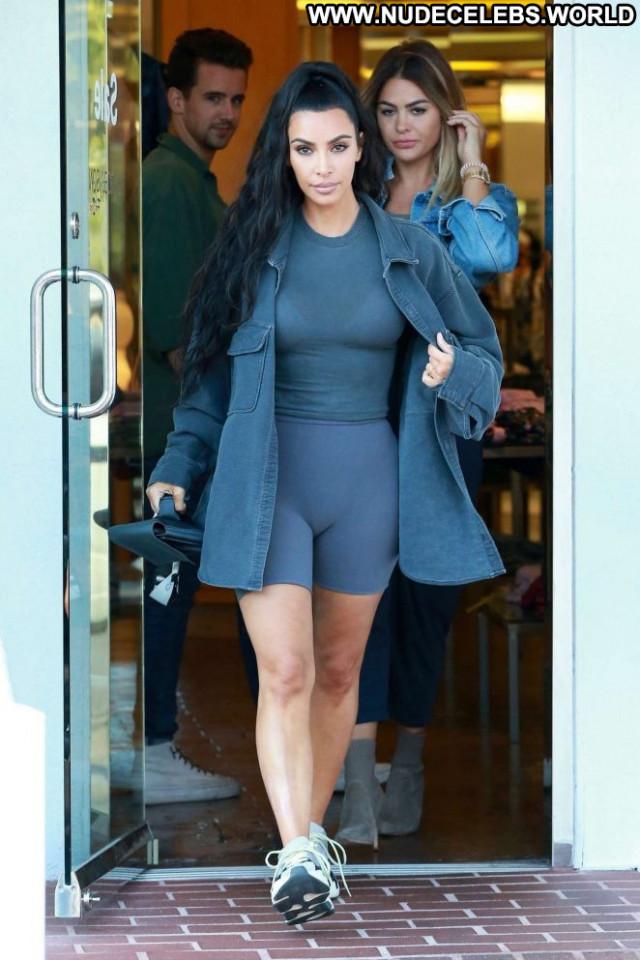 Kim Kardashian Los Angeles Shopping Babe Celebrity Los Angeles Posing