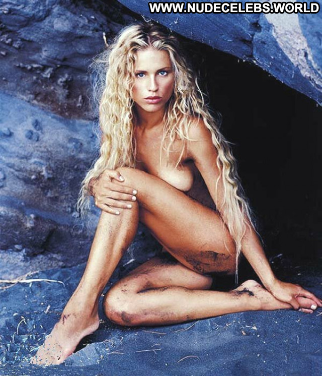 Michelle Hunziker The Professional Fashion Model Tv Host Babe Posing