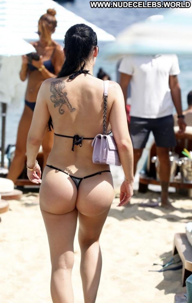 Aletta Ocean No Source Summer Greece Toples Posing Hot Bar Legs Sexy