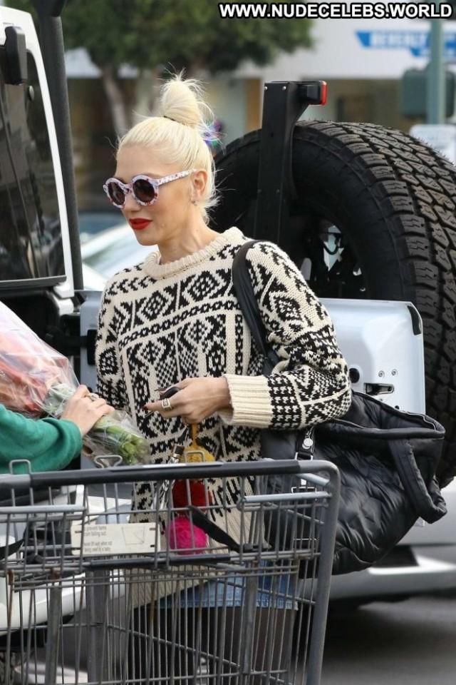 Gwen Stefani Los Angeles Babe Posing Hot Angel Celebrity Paparazzi