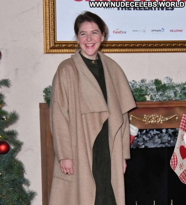 Gemma Whelan No Source Christmas Posing Hot Celebrity London