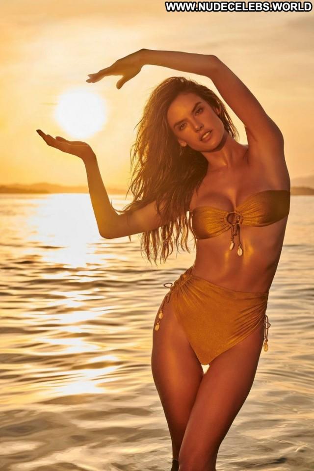 Alessandra Ambrosio No Source Celebrity Paparazzi Beautiful Posing