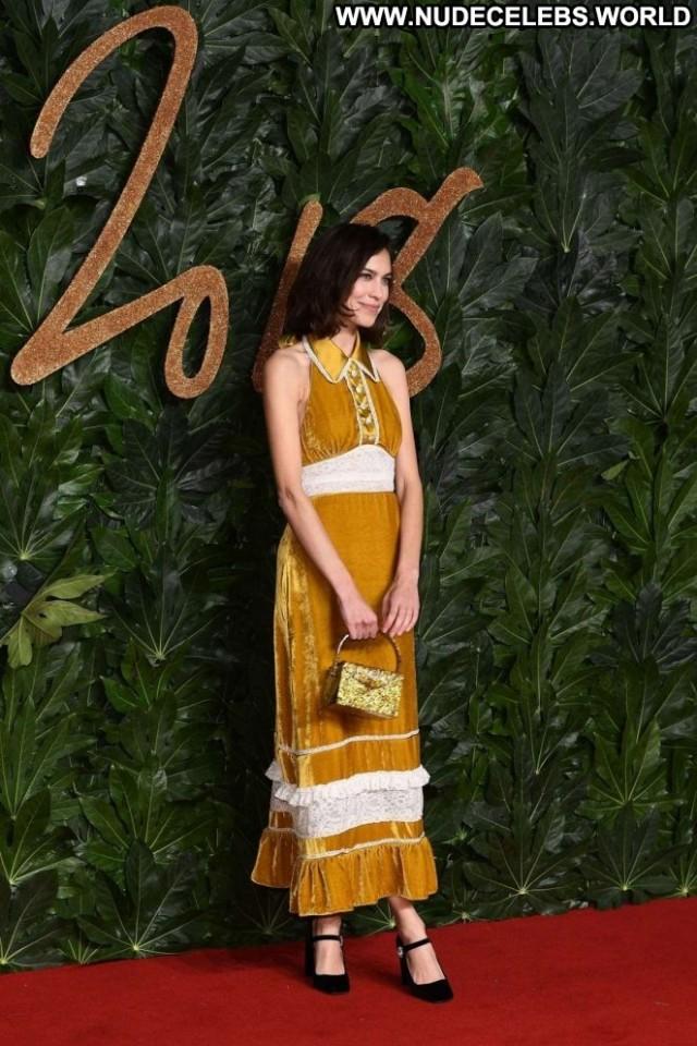 Alexa Chung No Source British Posing Hot Celebrity Awards Fashion