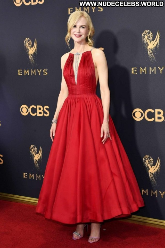 Nicole Kidman Primetime Emmy Awards Angel Posing Hot Babe Los Angeles