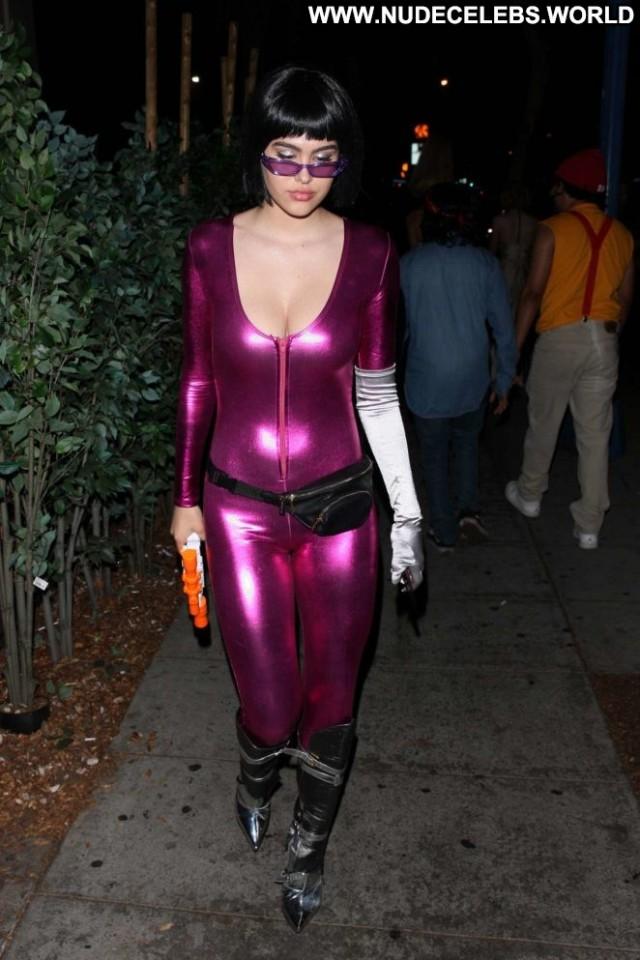 Amelia Hamlin Halloween Party Celebrity Halloween Party Posing Hot