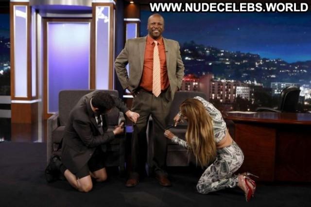 Jennifer Lopez Jimmy Kimmel Live Beautiful Posing Hot Paparazzi