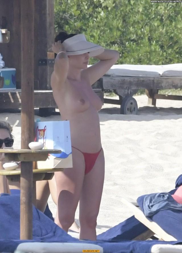 Bleona Qereti The Beach  Tits Ass Beautiful Posing Hot Babe Celebrity