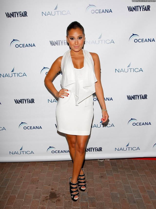 Adrienne Bailon The Red Carpet Actress Celebrity Beautiful Posing Hot