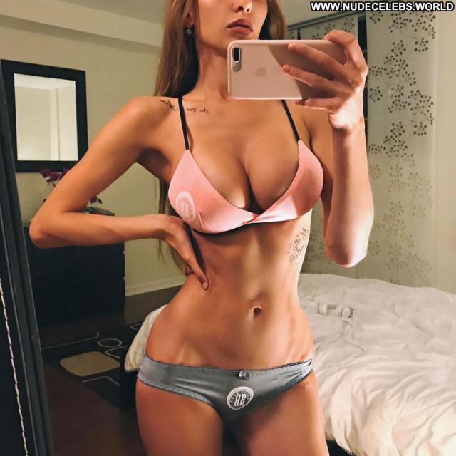 Natalie Jayne Roser No Source Bus Winter Posing Hot Babe Bikini