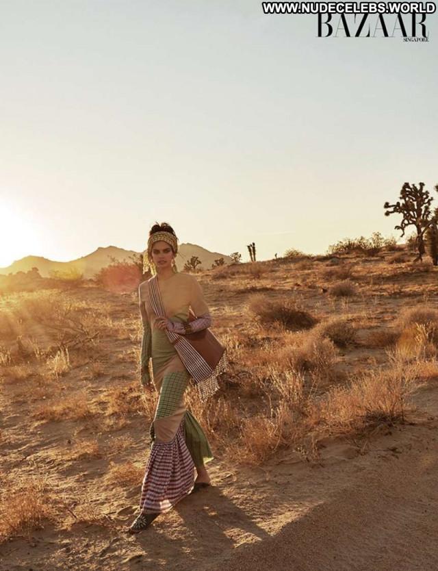 Sara Sampaio Harpers Bazaar Paparazzi Beautiful Celebrity Posing Hot